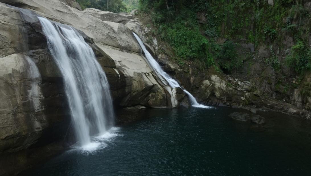 visiting phillipines tangadan falls kaitlyn schlicht